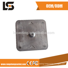spray pained die casted aluminum ODM motor cover aluminum die casted