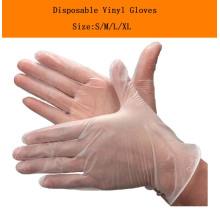Медицинские расходные виниловые перчатки для обследования