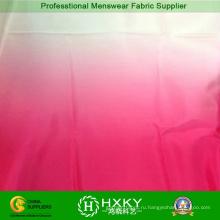 75d Поли шифон печать ткани с градиентом цвета