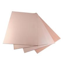 Feuille d'isolation en tôle d'aluminium en cuivre