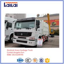 Carro de basura Sinotruk HOWO hecho en China
