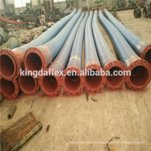 Wear Resistant Natural Rubber Mining Hose/ Slurry Hose With Flange for South Africa Market