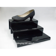 Black Customized Acrylic Shoes Holder