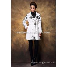 Высокое качество вышитые пальто цветочные пальто на Ближнем Востоке красотка