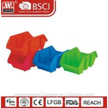 Plasitc empilhável utilitário basket(1pc)