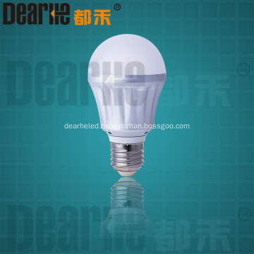 LED 5w E27 bulb light 2700-6500k featured design Ra80 85lm/w 2835 SMD chip AC220-240v
