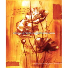 Abstract Paintings Flowers