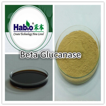 Glucanase enzyme, animal feed additive