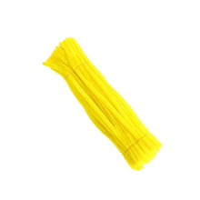 Wholesale cheap diy toys 30cm*6mm colorful pipe cleaner craft chenille stem for art