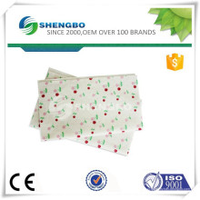Логотип печатная чистящая ткань / иглопробивное нетканое полотно