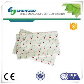Logo printed cleaning cloth/needle punched nonwoven