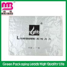 Bolso opp de desecho para bolsas de material pequeño con cabezal y mucílago