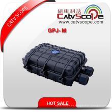 Cierre común horizontal de la fibra óptica de Gpj-M de la alta calidad / cierre que empalma de la fibra óptica