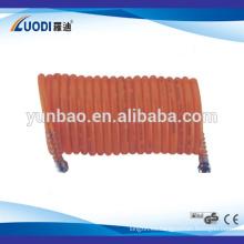 Manguera de retroceso de aire con conector de rosca
