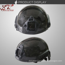Carbon Fiber Outdoor Sports Hunting CS Tactical Combat Helmet Military Helmet