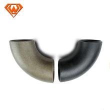 Cotovelo de encaixe de tubos de solda de aço carbono Cotovelos de encaixe de tubos sem costura de tubo de aço