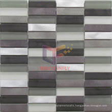 Hot Sale Aluminium Strip Mix Crystal Mosaic (CFS676)
