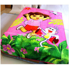 Super Soft Coral Fleece Blanket with Custom Design