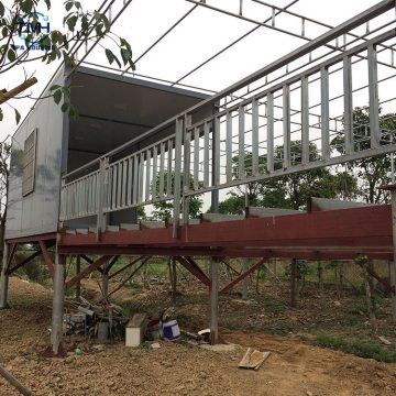 Ready made container steel house steel frame container house sea container home