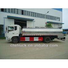 Dongfeng Tianjin 12t transporte de leite caminhão-tanque