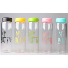 Customized New Product Portable Heatproof Glass Water Bottle