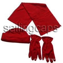 Polar Fleece Scarf, Hat, Gloves (SF-9001)
