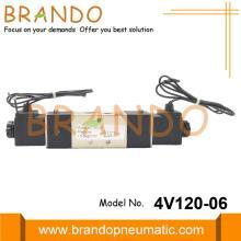 1/8 '' BSPT 4V120-06 Электромагнитный пневматический клапан 24VDC 220VAC