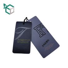 EXW Preisdruck Kraftpapier Hang Tag für Tuch