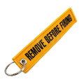 Remove Before Flight Keychains with Several Colors