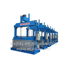 EVA/PE two stage sheet foaming hydraulic press