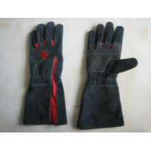 Cow Split Leather Garden Work Glove-7501