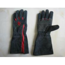 Cow Split Leather Garden Work Glove-7501
