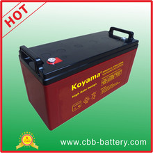 135ah 12V High Rate Deep Discharge Battery for Solar System