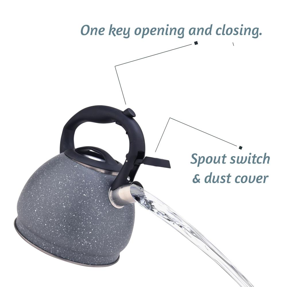 3L Stainless Steel Whistling Teapot