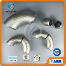 Colocaciones de la tubería de la soldadura a tope del codo del acero inoxidable 304/316 (KT0353)