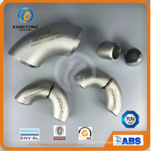 Raccords de tuyau de soudure bout à bout de coude en acier inoxydable 304/316 (KT0353)