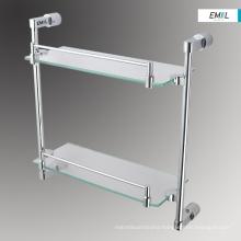 Bathroom accessories glass shelf fixtures
