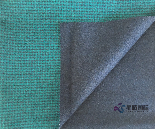 Over-coating Wool Textile
