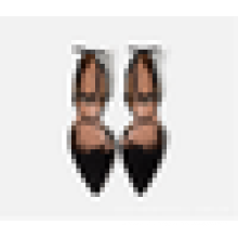 2016 Fashion Lady Dress Shoe Dernières Femmes Ankle Wrap Pointed Toe Flats