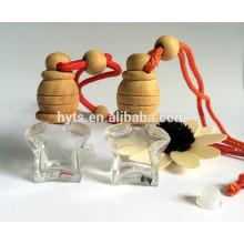 Botella de perfume colgante de la forma de la estrella 5ml para el difusor