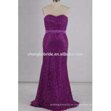 Vestido de novia de encaje de encaje de encaje vestido de sirena vestido de encaje de noche