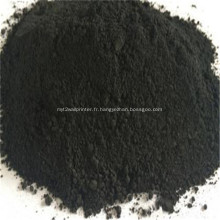 Pigment noir de carbone pour revêtement à base d'eau