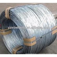 Fil de Galfan 1.2mm-6.0mm (Al5%, Zinc 95%) (Al10%, Zinc 90%)