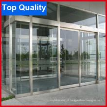 Stainless Stee Frame porta deslizante automática com boa qualidade