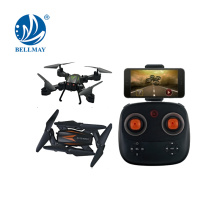 Wholesales 2.4G 4CH Foldable Altitude Hold Wifi Control RC Drone With one- key return For Sales