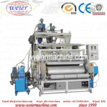 1500mm LLDPE PE Plastic 3-5 Layers Streth Film Rewinder and Slitter Machine