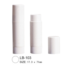 Empty Plastic Lip Balm Tube