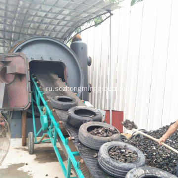 AutomaticTyre+Pyrolysis+Oil+Distillation+Plant