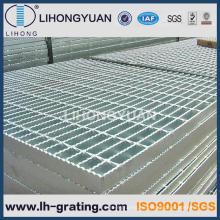 Verzinkte gezackten Boden Stahl Gitter für Plattformprojekte
