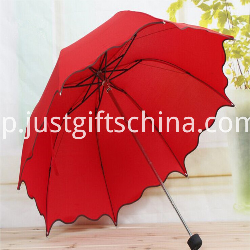 Promotional Falbala Folding Umbrella2